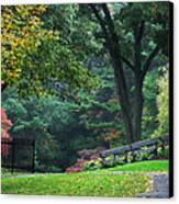 Walk In The Park Canvas Print by Christina Rollo