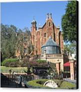 Walt Disney World Resort - Magic Kingdom - 1212141 Canvas Print by DC Photographer