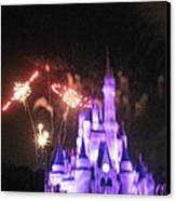 Walt Disney World Resort - Magic Kingdom - 121238 Canvas Print by DC Photographer