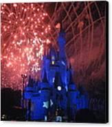 Walt Disney World Resort - Magic Kingdom - 121271 Canvas Print by DC Photographer