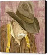 Walter Canvas Print by Regan J Smith