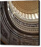 Washington Dc - Us Capitol - 01138 Canvas Print by DC Photographer