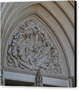 Washington National Cathedral - Washington Dc - 0113118 Canvas Print by DC Photographer