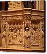 Washington National Cathedral - Washington Dc - 011333 Canvas Print by DC Photographer