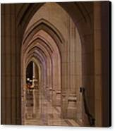Washington National Cathedral - Washington Dc - 01136 Canvas Print by DC Photographer