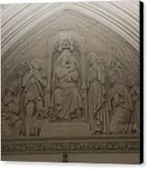 Washington National Cathedral - Washington Dc - 011366 Canvas Print by DC Photographer