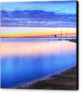 Water Colors Canvas Print by JC Findley