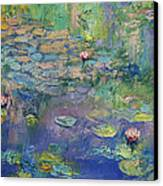 Water Garden Canvas Print by Michael Creese