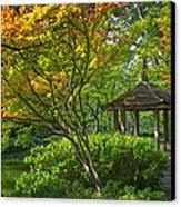 Watercolor Gardens Canvas Print by Joan Carroll