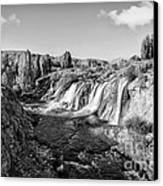 Waterfall Canvas Print by Emirali  KOKAL