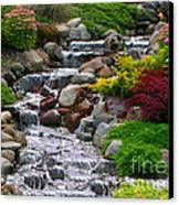 Waterfall Canvas Print by Tom Prendergast