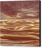 Waterscape Number Seven Canvas Print by Bob Orsillo