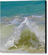 Wave 3 Canvas Print by Cheryl Young