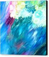 Waves Canvas Print by Jason Stephen