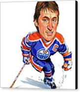 Wayne Gretzky Canvas Print by Art