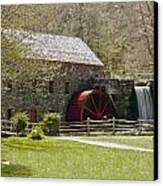 Wayside Grist Mill 6 Canvas Print by Dennis Coates