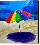 We Left The Umbrella Under The Storm Canvas Print by Patricia Awapara