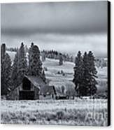 Weathered Beneath The Storm Canvas Print by Mike  Dawson