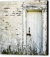 Weathered Door Canvas Print by Diane Diederich