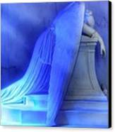 Weeping Angel Canvas Print by Don Lovett