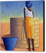 Well Woman Canvas Print by Tilly Willis