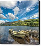Welsh Boats Canvas Print by Adrian Evans