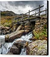 Welsh Bridge Canvas Print by Adrian Evans