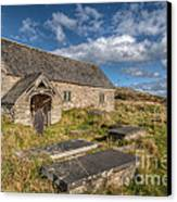 Welsh Church Canvas Print by Adrian Evans