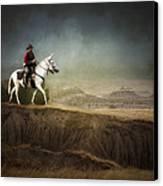 Westward Canvas Print by Ron  McGinnis
