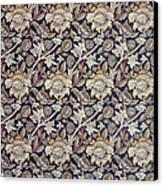 Wey Design Canvas Print by William Morris