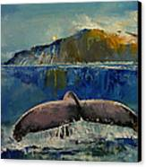 Whale Song Canvas Print by Michael Creese