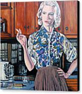 What's For Dinner? Canvas Print by Tom Roderick