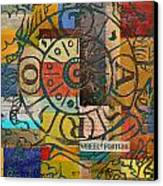 Wheel Of Fortune Canvas Print by Corporate Art Task Force