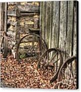 Wheels Of Time Two Canvas Print by Benanne Stiens