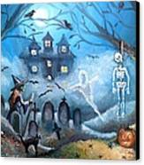 When October Comes Canvas Print by Shana Rowe Jackson