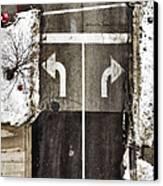 Which Way Canvas Print by Margie Hurwich