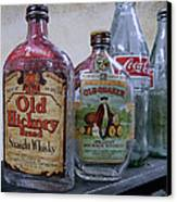 Whisky And Coke Canvas Print by Daniel Hagerman