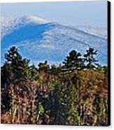 White Mountains Canvas Print by Skip Willits