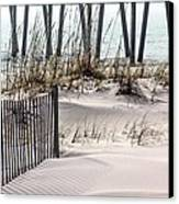 White Sands Of Pensacola Beach Canvas Print by JC Findley