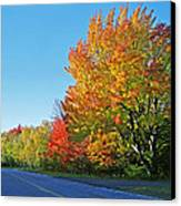 Whitefish Bay Scenic Byway Canvas Print by James Rasmusson