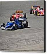 Wide In Turn 9 Canvas Print by Dave Koontz