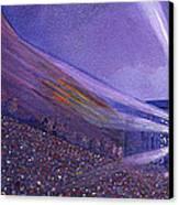 Widespread Panic Redrocks Lighting Canvas Print by David Sockrider