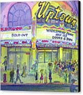 Widespread Panic Uptown Theatre  Canvas Print by David Sockrider