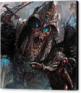 Wight Of Precinct Six Canvas Print by Ryan Barger