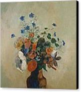Wild Flowers Canvas Print by Odilon Redon