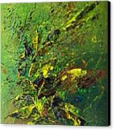 Wild Green Canvas Print by Thierry Vobmann