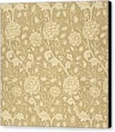Wild Tulip Wallpaper Design Canvas Print by William Morris