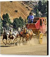 Wild West Ride 2 Canvas Print by Donna Kennedy