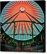 Wildwood's Giant Wheel Canvas Print by Mark Miller