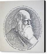 William Cullen Bryant Canvas Print by Henry Goode
